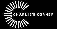 LOGOTYPE CHARLIE'S CORNER WHITE